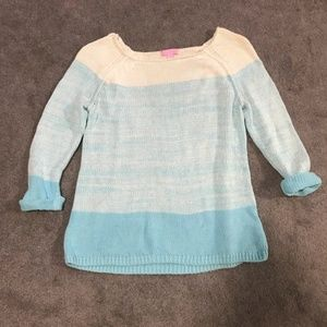 Lilly Pulitzer Sweaters - Lilly Pulitzer Nantucket Sweater Spa Blue Ombre